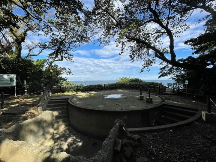 猿島砲台跡