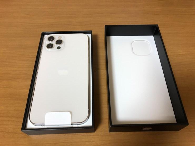 iPhone 12 Pro開封