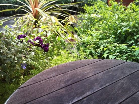 日比谷茶廊 入り口付近の席