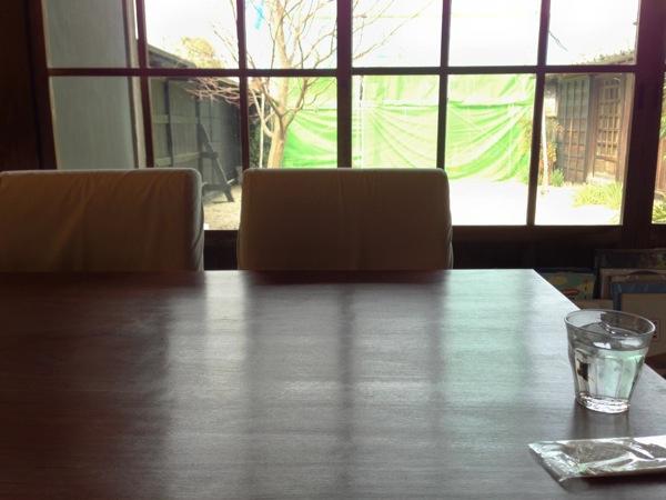 カフェしえと中庭