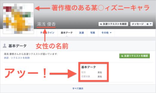Facebook Spam Account