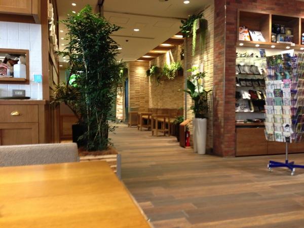 カフェソラーレ店内