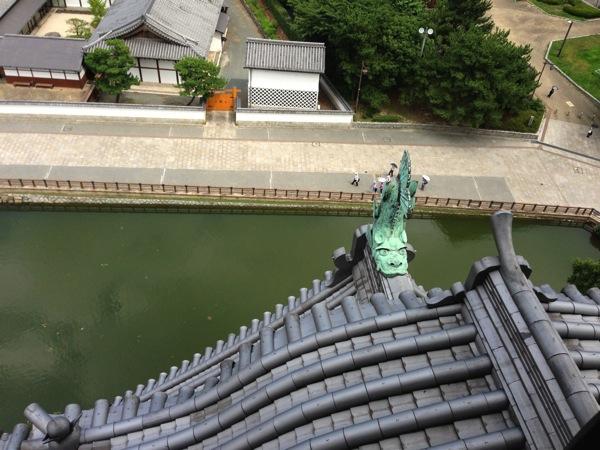 小倉城の屋根