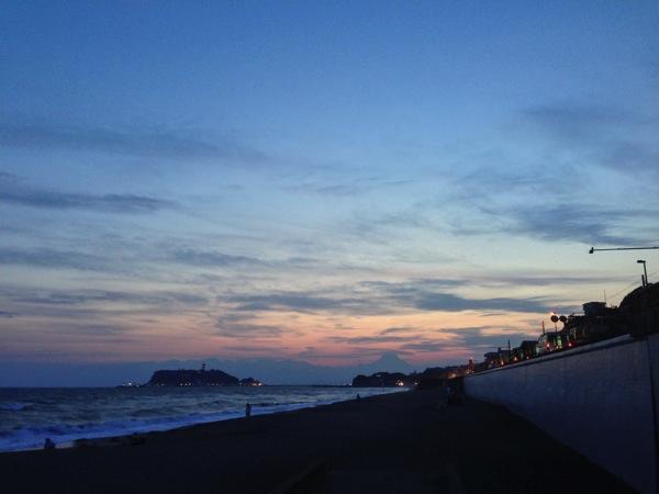 七里ヶ浜サンセット