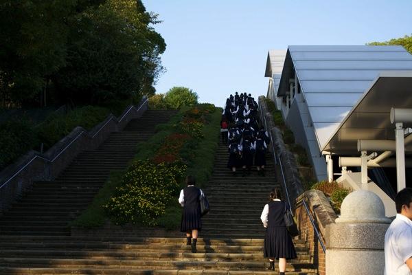 平和公園階段