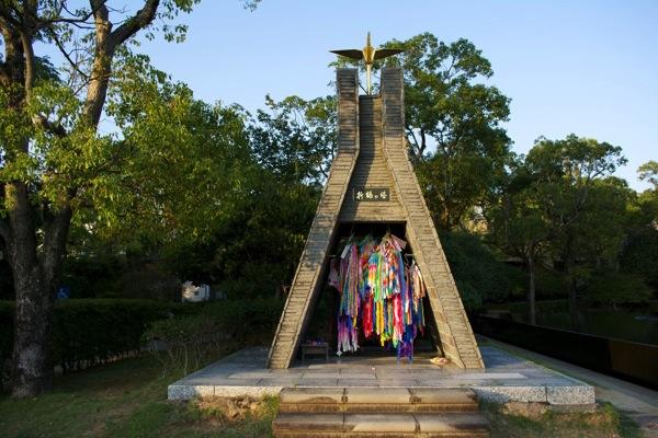 折り鶴の塔