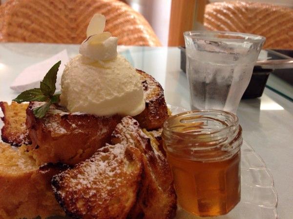 蜂蜜と発酵バターのフレンチトースト