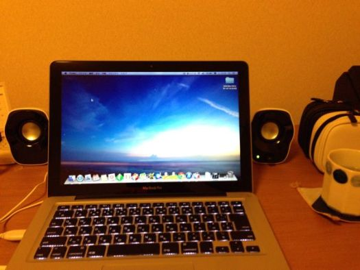 Z120BWとMacBook Pro