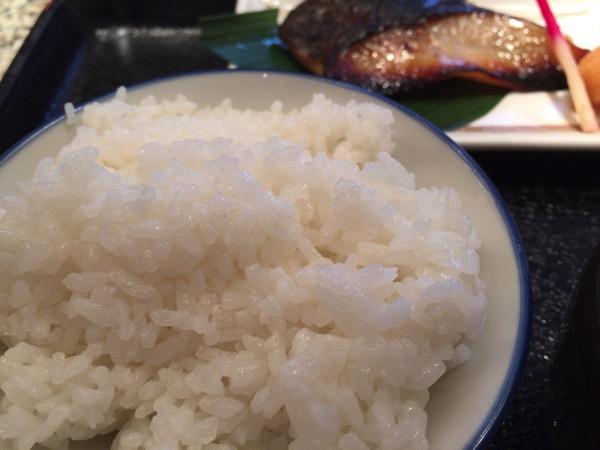 魚久のご飯