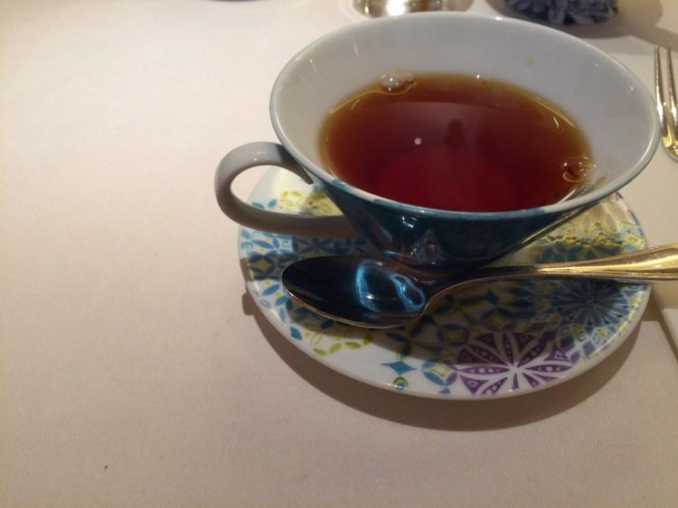 銀座ぶどうの木の紅茶
