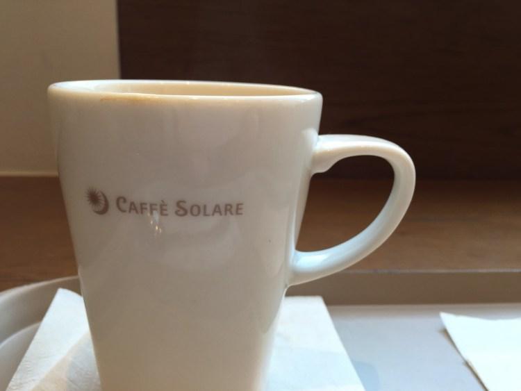 CAFFE SOLAREコーヒーカップロゴ