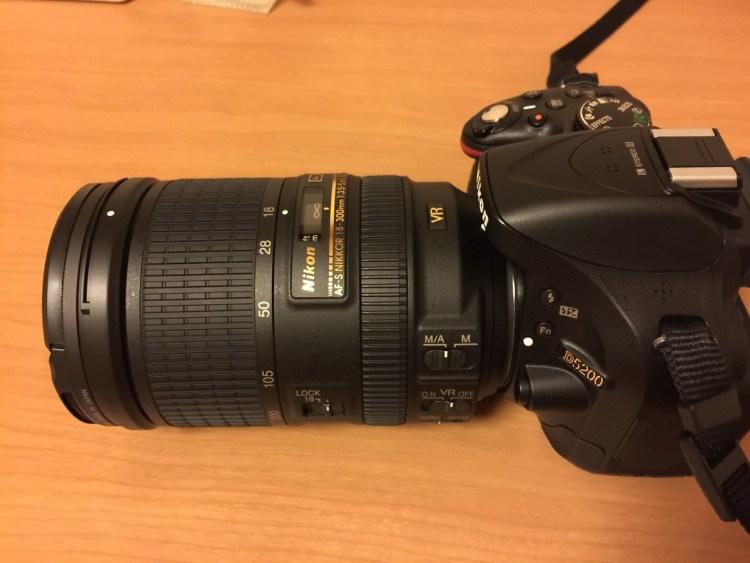 D5200とAF-S DX NIKKOR 18-300mm f/3.5-5.6G ED VR