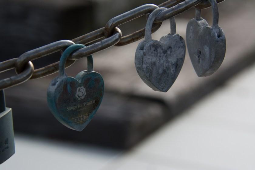 恋人の聖地の鍵