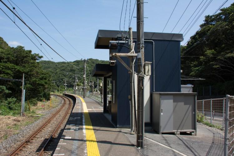 行川アイランド駅舎