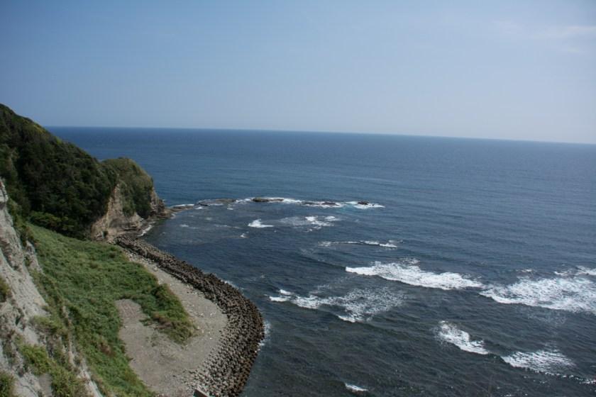 崖からの眺め