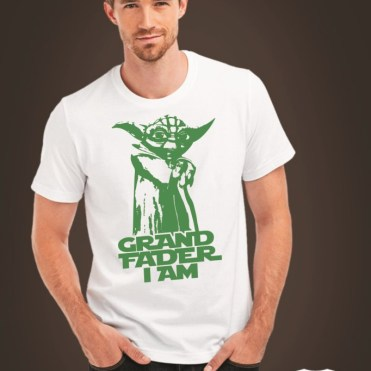 Koszulka na Dzień Dziadka Grandfader I am (Yoda)