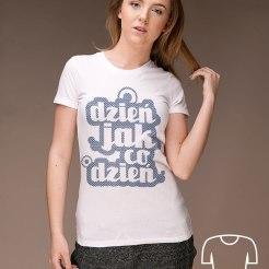 koszulka dla młodej mamy Dzień jak co dzień