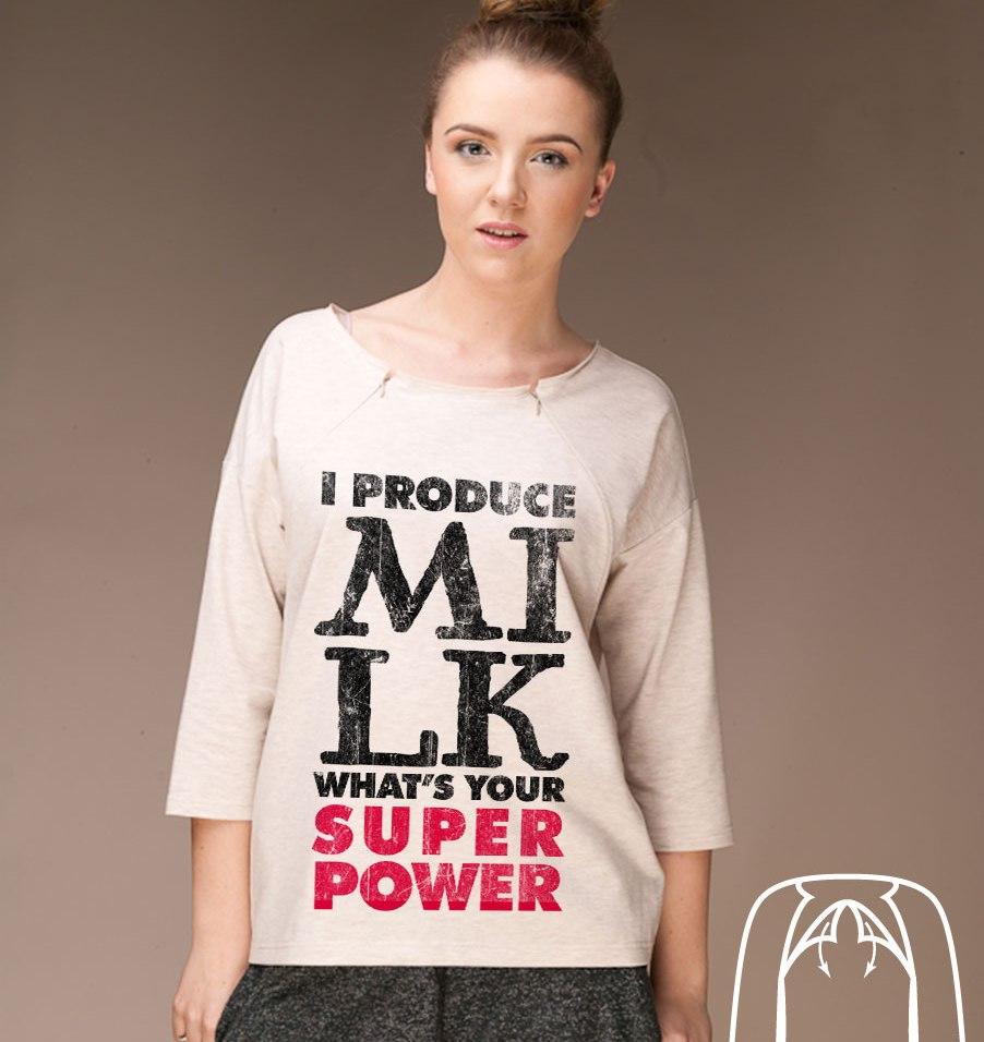 Bluzka ułatwiająca karmienie I produce milk, 99 zł