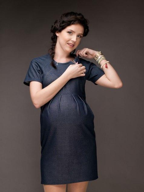 Sukienka 2w1 ciążowa i do karmienia MUSTHAVE 3