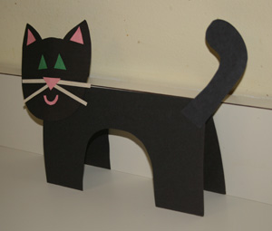 бумажный кот
