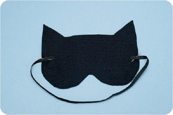 маска для сна кот