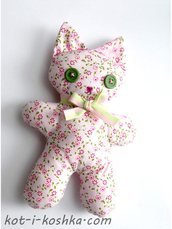 игрушка кот своими руками (4)