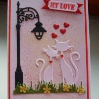 Открытки с котами на день Валентина