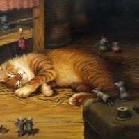 Коты Александра Маскаева