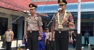 Serahterima Jabatan Kapolres Polres Kotabaru
