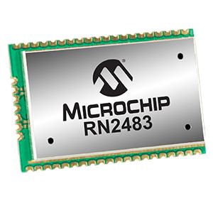 Microchip RN2483 module