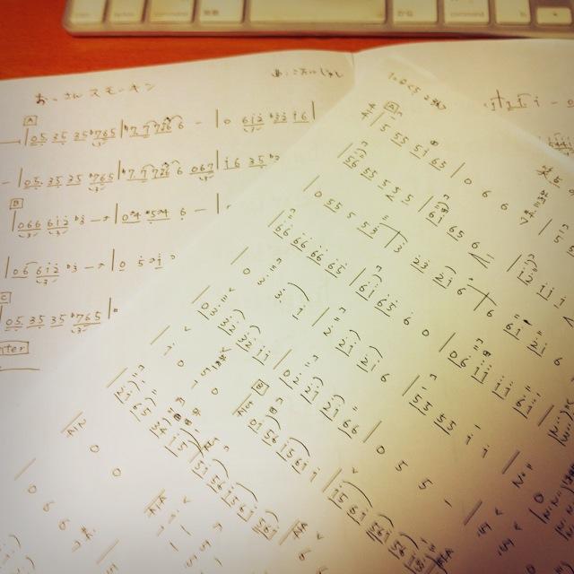 数字譜用紙