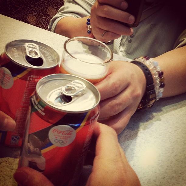 1日目の乾杯
