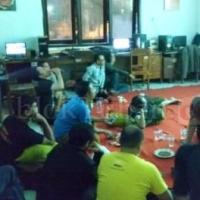 Jurnalis Tuban Nobar Bersama Ketua KONI