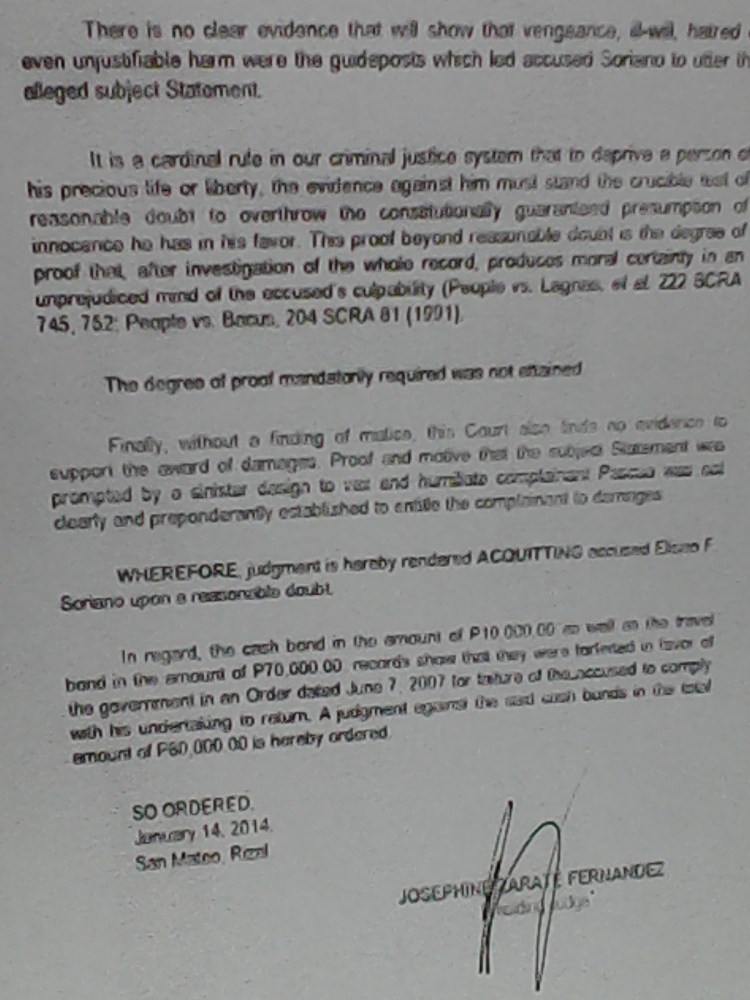Courts Acquit Bro. Eli for the Second Time this Year on Cases Filed by Iglesia ni Cristo Members (3/4)