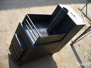 Bath stove sa kahoy na panggatong gamit ang iyong sariling mga kamay