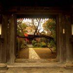 とおせんぼの木、教恩寺 大町 戦国大名ゆかりの寺 アクセスデータ付き