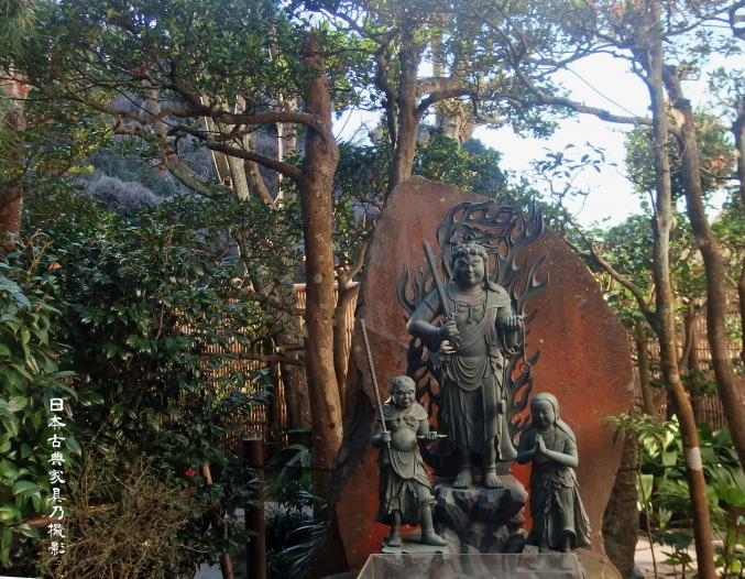 成就寺 本尊 不動明王像のレプリカ