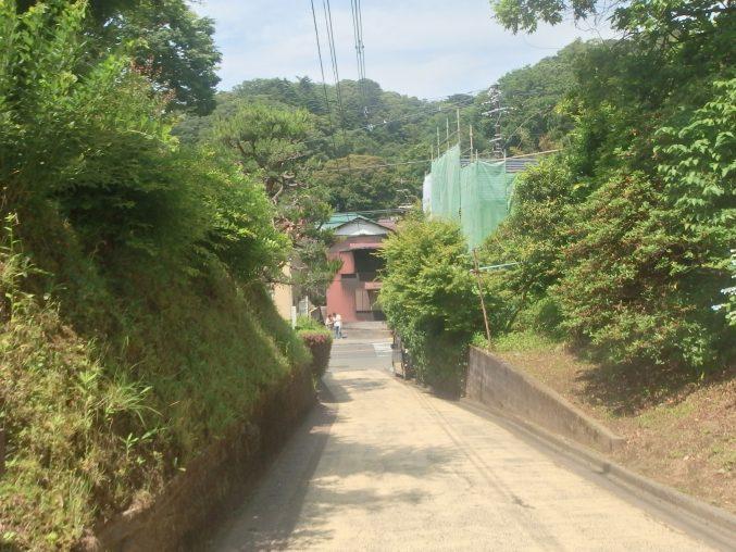 亀ヶ谷切通し 鎌倉街道