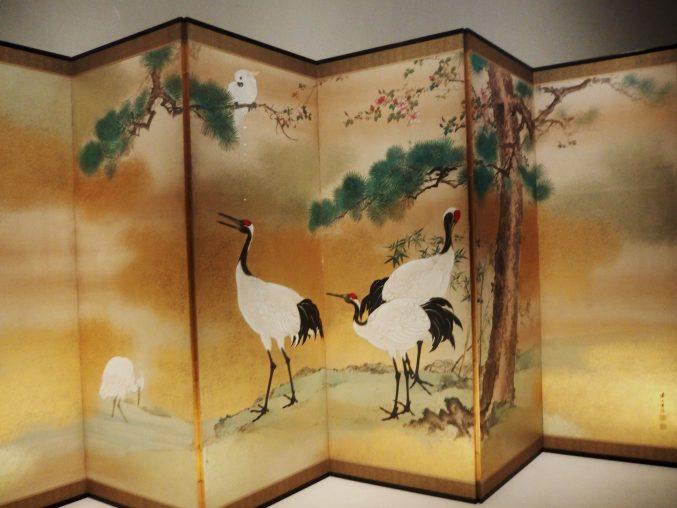 岸連山「花鳥図」山種美術館所蔵