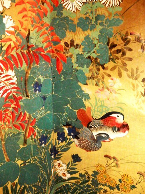 鈴木其一「四季花鳥図」山種美術館所蔵