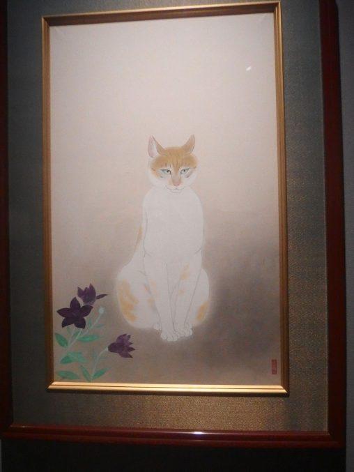 小林古径「猫」山種美術館所蔵