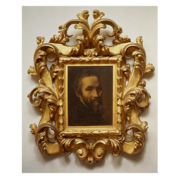 マルチェッロ・ヴェヌスティ ミケランジェロの肖像》
