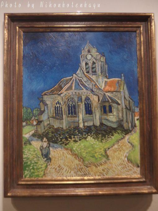 レンブラント リ・クリエイト展 ゴッホ オーヴェルの教会