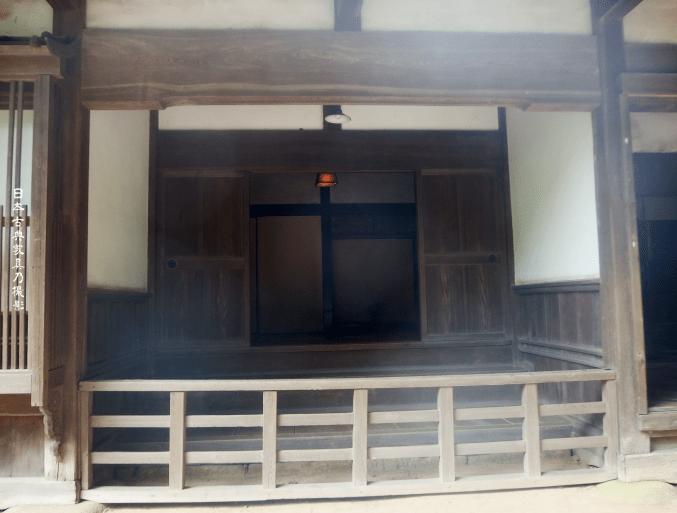 三渓園 旧矢箆原家住宅 式台の玄関