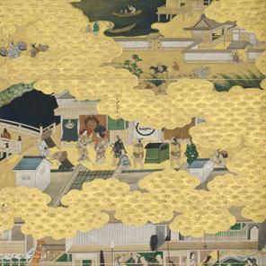 根津美術館所蔵 洛中洛外図屏風