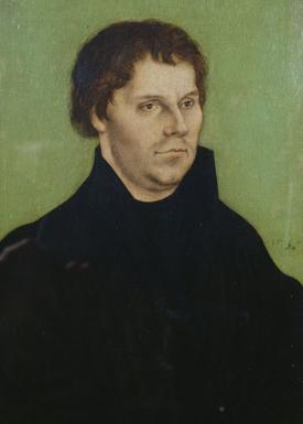 ルカス・クラーナハ(父) 「マルティン・ルターの肖像」