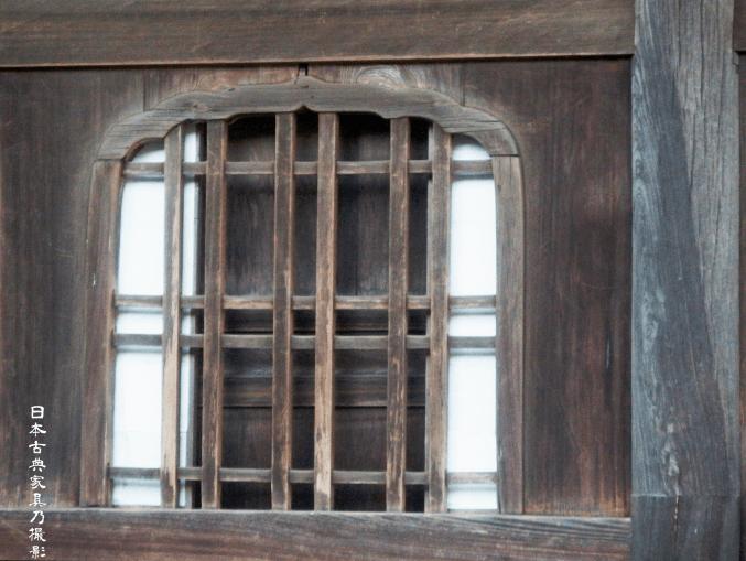 円覚寺 舎利殿の花頭窓