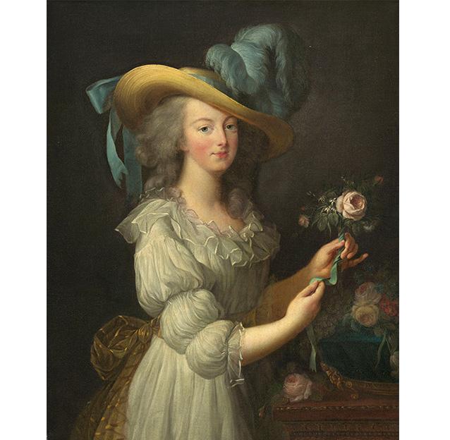 エリザベト=ルイーズ・ヴィジェ・ル・ブラン「ゴール・ドレスを着たマリー・アントワネット」