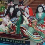 お正月から十二単に牛車に源氏物語の世界 東京国際フォーラムロビー