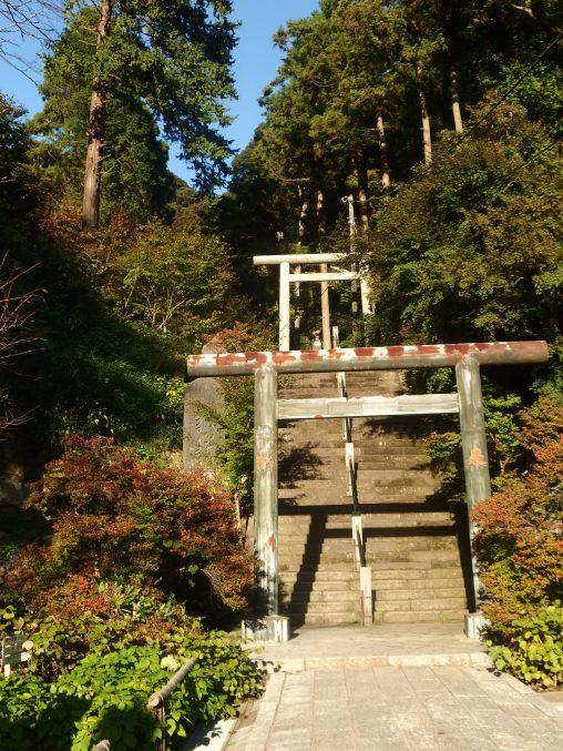 建長寺 半僧坊への階段